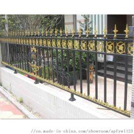 小区围墙铁艺护栏锌钢护栏网 别墅铁艺护栏热销