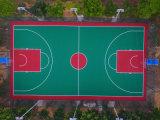 广西防城港塑胶篮球场新建场地地坪厂家 康奇体育