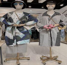 基弟杭州库存女装品牌尾货米梵张莉广东女装尾货折扣