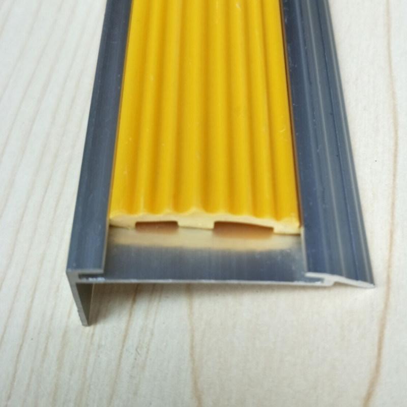 厂家直销4CM带胶条铝合金防滑条