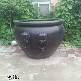 现货大型故宫铜缸 大水缸招财缸城市园林不锈钢雕塑