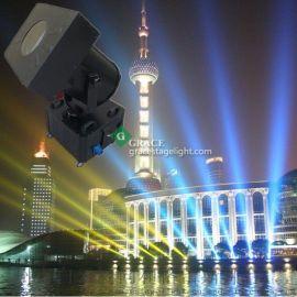 户外变色探照灯 4000W防水空中射灯 楼顶探照灯