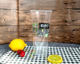 廠家直銷一次性塑料杯 透明PP奶茶杯 90口徑果汁杯 飲料杯定做