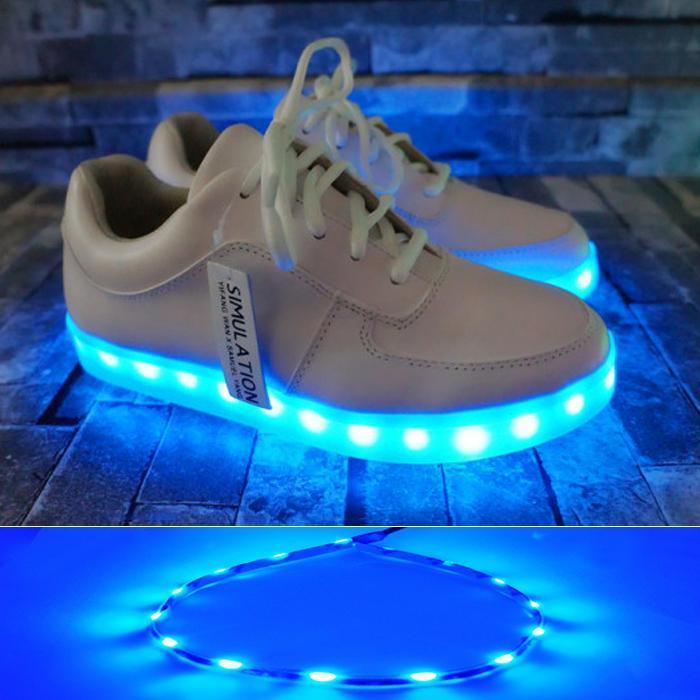 LED閃光燈條 鞋燈 高亮LED鞋燈