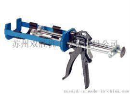 英国COX双组份胶枪,美缝胶枪,填缝枪,AB胶枪,400ml双管胶枪,双组份胶枪,省力胶枪包邮