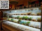 菏澤翠峯菀 自助火鍋菜品展示櫃,飯店明檔點菜櫃,蔬菜水果保鮮櫃,廠家直銷