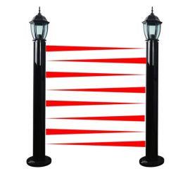 艾礼富灯饰型红外光墙2-12光束可选,距离5-100米可选
