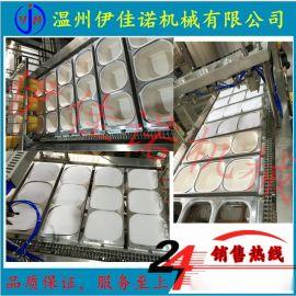 重庆特产碗装方便火锅冒菜封盖机,全自动冒菜封口机定制