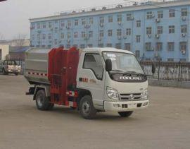 垃圾车厂家|程力威牌挂桶自装卸式3方垃圾车