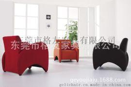 接待洽谈室PU单人沙发椅,东莞沙发椅