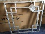 中国风铝花格-中国风方管烧铝窗花[中式方管烧焊铝窗花]