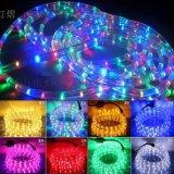 led彩虹管 圓二線36燈 燈光節造型燈帶