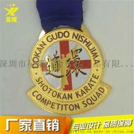 专业制作个性烤漆金属奖牌 通用纪念奖章 活动奖牌