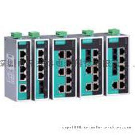 EDS-208A-MM-ST MOXA 2光6电工业型 以太网交换机