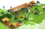 戶外兒童木質拓展 爬網組合 幼兒園室內木質網繩攀爬