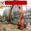 挖掘機改打樁機/打鋼板樁機/9米鋼板樁