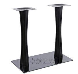 钛黑不锈钢长方形台柱