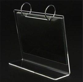 东莞凤岗工厂加工有机玻璃台历架