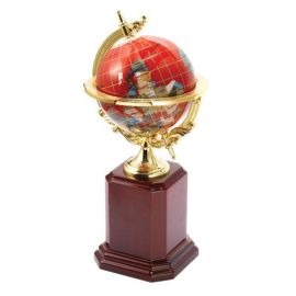 办公纪念礼品,金属地球仪,水晶地球仪