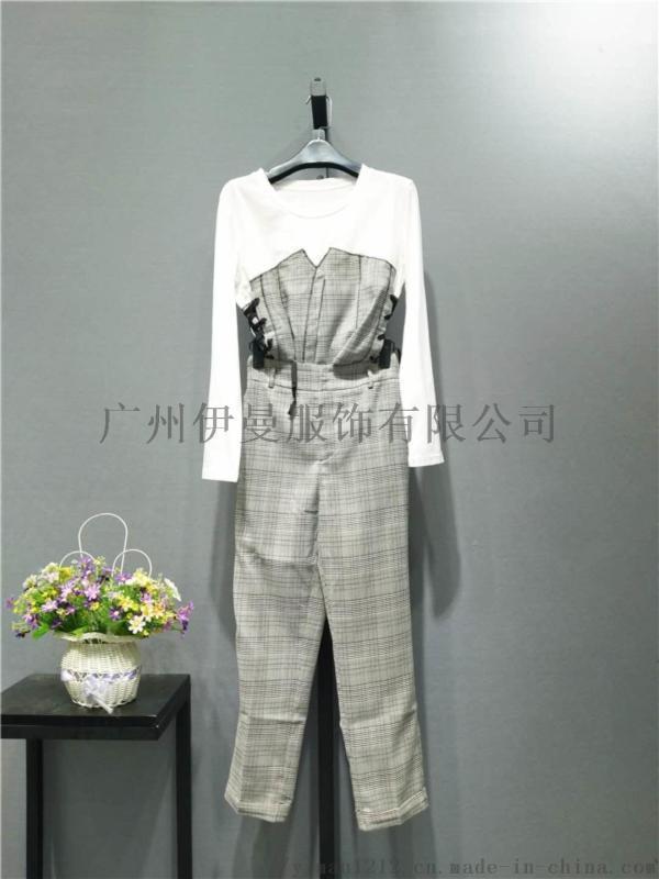 廣州伊曼服飾品牌折扣女裝,《你我約定》秋裝尾貨庫存
