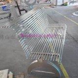 定制不锈钢户外长椅 艺术椅 公园椅 304防腐椅