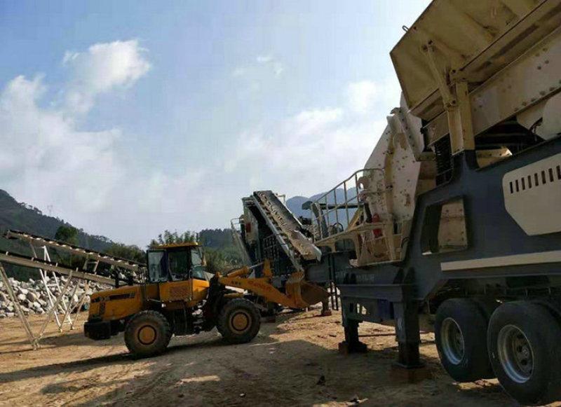济宁泗水时产300吨石料破碎机 固定式碎石机生产线