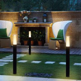 厂家定制现代简约60cm草坪灯 路晟铝制品 led草坪灯600高