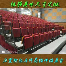 体育馆座椅伸缩移动看台座椅舞蹈室座椅