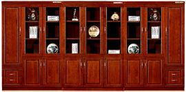 油漆木皮书柜文件柜06/07款 绿色环保健康家具