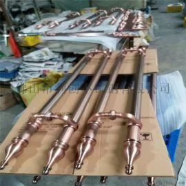 供应镜面钛金拉手不锈钢镀铜拉手定制