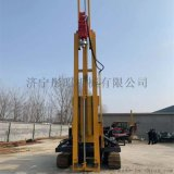 杭州履帶式光伏打樁機型號 護欄打樁機廠家