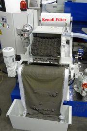抛光机工具磨床斜式纸带过滤机,V型磁性纸带过滤机