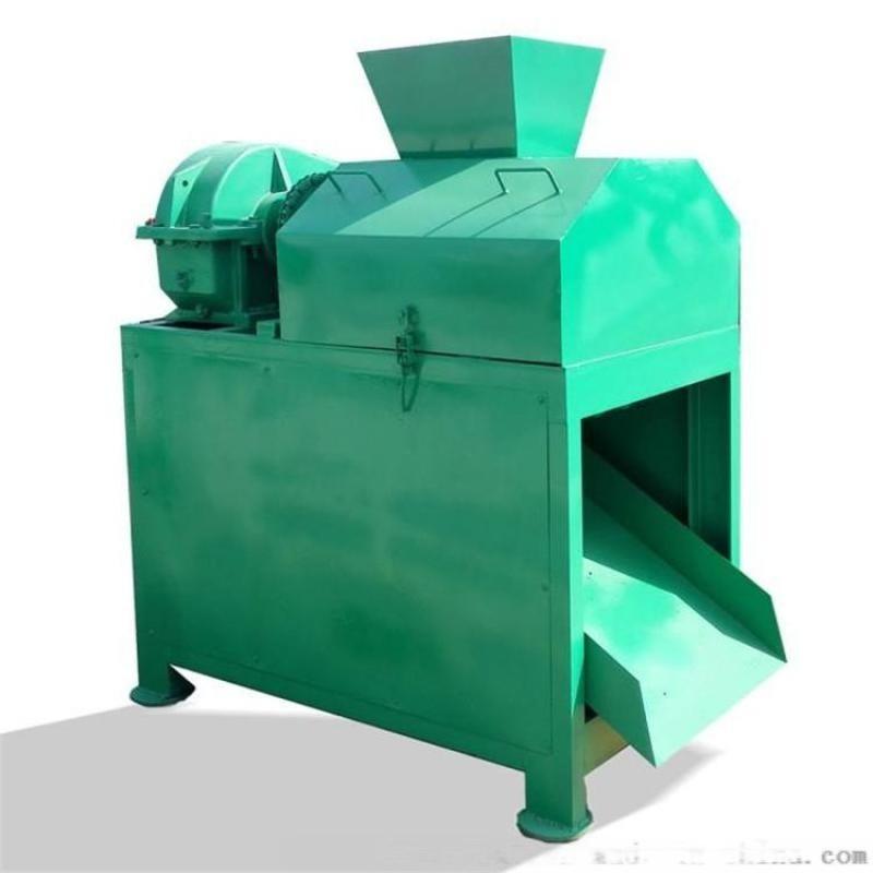 复合肥生产线对辊造粒机 时产1.5吨**铵造粒机 盘式造粒机