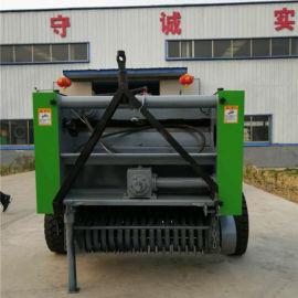 圆捆小麦杆捡拾打捆机 玉米秸秆打捆机生产厂家