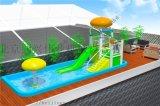 夏季水滑梯水世界主题水上乐园滑梯亲子乐园水上冲关
