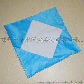 郑州活动专用抱枕做图a4彩色全绒抱枕**