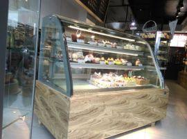 广州三层弧形蛋糕展示柜