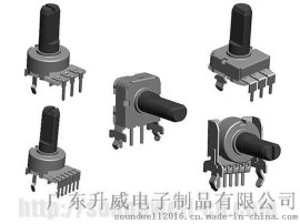 SOUNDWELL塑胶轴旋转电位器RB12