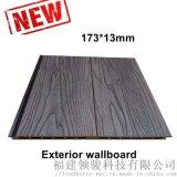木塑墙板混色深压纹浮雕纹外墙装饰板塑木墙板