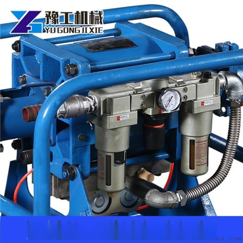 矿用气动双液注浆泵图片型号煤安证齐全