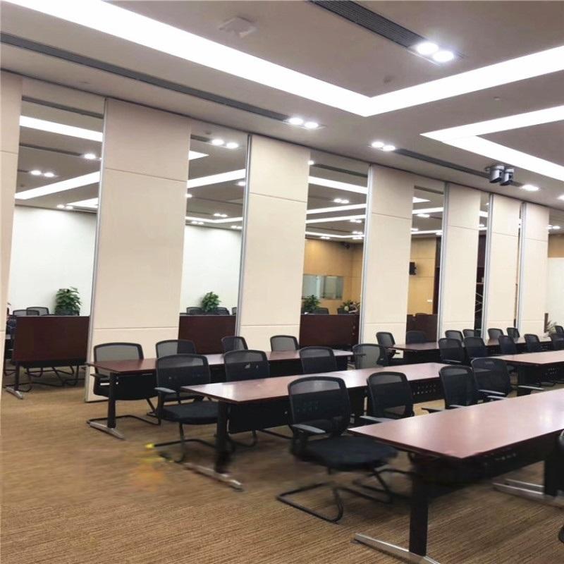 會議室隔音摺疊門 辦公室活動隔斷屏風