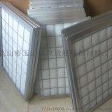 摺疊活性炭濾網鍍鋅框或不鏽鋼板