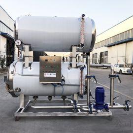 全自动杀菌锅设备 肉制品杀菌锅工艺流程