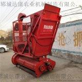 拖拉機帶青貯秸稈收集機  加工定做小麥粉碎回收機