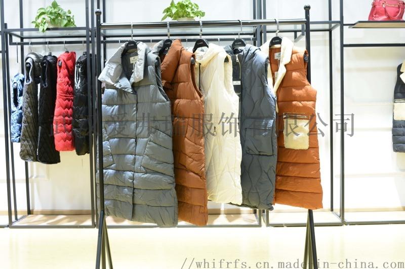 時尚女裝尾貨市場藝素國際18年冬裝羽絨服大衣