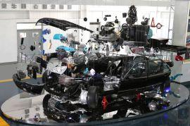 汽车文化博物馆吊装车结构展示台