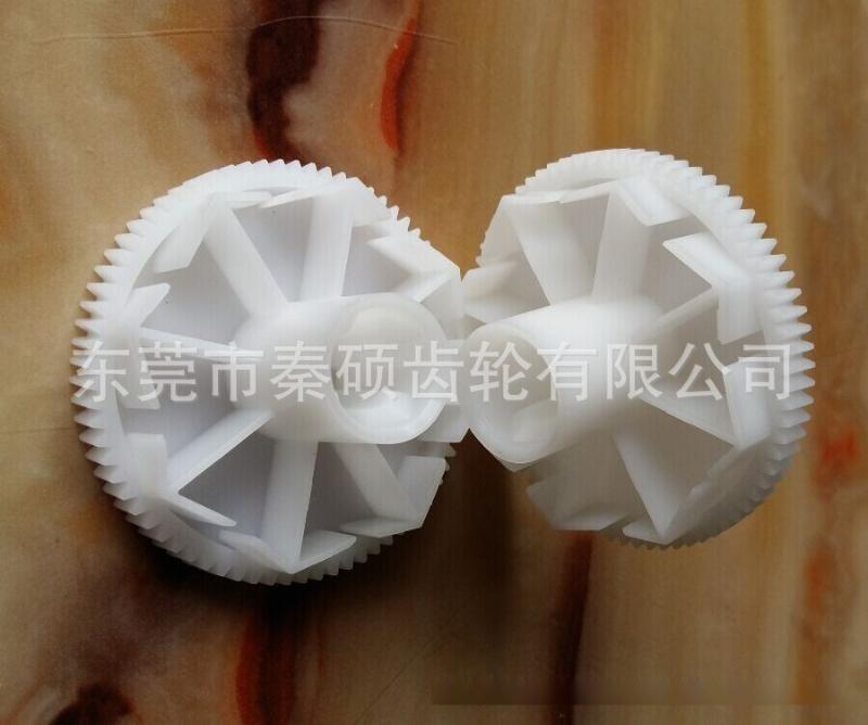 家电塑胶齿轮M0.8*74T*29.5L耐磨损低噪音价格优厂家现货供应