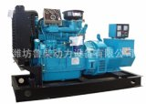 潍柴120KW发电机康明斯纯铜免维护电机静音全自动柴油发电机组