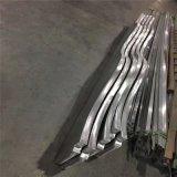 广州工厂专业加工定制波浪形铝方管拉弯弧形铝方通吊顶