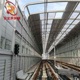 供应 多种规格铁路声屏障 高强度高铁屏障板 环保铁路屏障